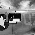 Bw Aircraft Gunner Window by Chuck Kuhn