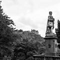 Bw Edinburgh Scotland  by Chuck Kuhn