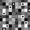 Bw Pop Pattern by Morgan Ralston