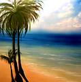 By The Beach by Veronica Castaneda