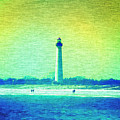 By The Sea - Cape May Lighthouse by Bill Cannon