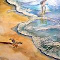 By The Sea by Myrna Brooks Bercovitch