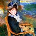 By The Seashore 1883 by Renoir PierreAuguste