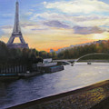 By The Seine by Gail Eisenfeld