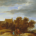By The Wayside by David Teniers the Younger