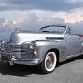 Bygone Era - 1941 Cadillac Convertible by Gill Billington