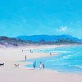 Byron Bay Beach Morning by Jan Matson