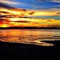 Byron Bay Sunset  by Adam Chambers