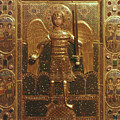 Byzantine Art: St. Michael by Granger