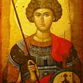 Byzantine Knight by Ellen Henneke