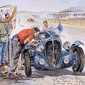 c 1949 the delahaye 135 s driven by giraud and gabantous Roy Rob by Eloisa Mannion