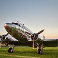 C-47 At Dusk by Paul Quinn