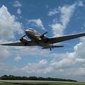 C-47 Dakota Low Pass Over Jekyll Island Airport. 2015 by Robert Youmans