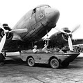C-47, Skytrain Which Was Nicknamed The Gooney Bird C 1943 by California Views Archives Mr Pat Hathaway Archives