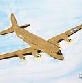 C-54 Warplane by Elizabeth Kilbride