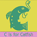 C Is For Catfish Kids Animal Alphabet by Sandra McGinley