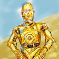 C3po by Russell Pierce