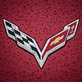 C7 Badge Red by Douglas Pittman
