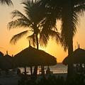Cabana Sunset by Paula Deutz