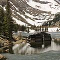 Cabin At Chinns Lake by Tonya Hance
