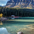 Cabin At Lake Louise by Pierre Leclerc Photography