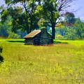 Cabin At Valley Forge by Bill Cannon
