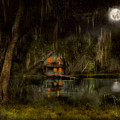 Cabin - De Land, Fl - Restless Night 1904 by Mike Savad