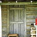 Cabin Door by Shannon Turek