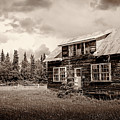 Cabin In Kenai by Russell Alexander