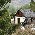 Cabin In Need Of Repair by Nelson Strong