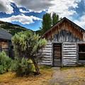 Cabin In The Sagebrush by Lauren Leigh Hunter Fine Art Photography