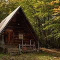 Cabin In The Woods by Julian Regan