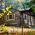 Cabin In The Woods by Paul Sachtleben
