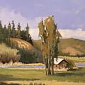 Cabin On The Kootenai by Dalas  Klein