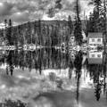 Cabin Reflection by Maha Aldoori