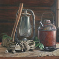 Cabin Still Life by Anna Rose Bain