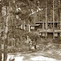 Cabins At Carmel Highlands Inn Circa 1930 by California Views Archives Mr Pat Hathaway Archives