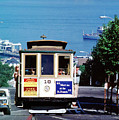 Cable Car 18 Heading Up The Hyde Street Line by Wernher Krutein