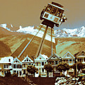 Cable Car Fly - San Francisco Collage by Peter Potter