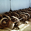 Cable Car Wheels, Repair Shop by Wernher Krutein