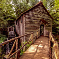 Cable Grist Mill by Rick Bennett Photography