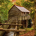 Cable Mill Cades Cove Smoky Mountains Tennessee In Autumn by Carol Mellema
