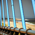 Cable Stay Abstract Of The Indian River Inlet Bridge by Bill Swartwout Photography