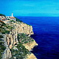 Cabo La Nao Lighthouse Javea Spain by Mackenzie Moulton