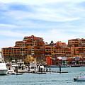 Cabo San Lucas Marina by Robert  McKinstry