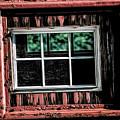 Caboose Window by Brad Allen Fine Art