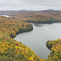 Cabot Vermont Nichols Pond Autumn by Andy Gimino