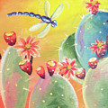 Cactus And Firefly by Noel Cole
