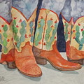 Cactus Boots by Wendy Hill