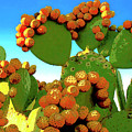 Cactus Pears by Dominic Piperata